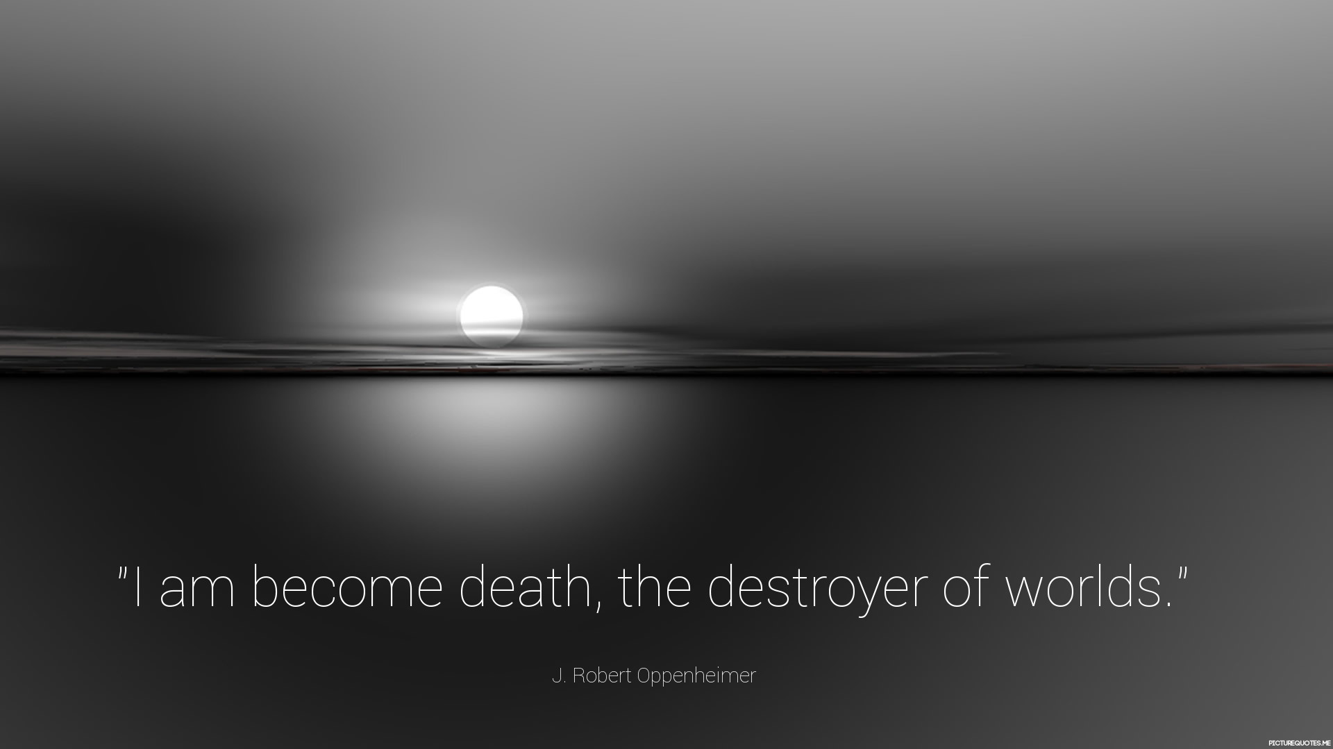 Oppenheimer Quote Jrobert Oppenheimer Quotes  Picturequotes