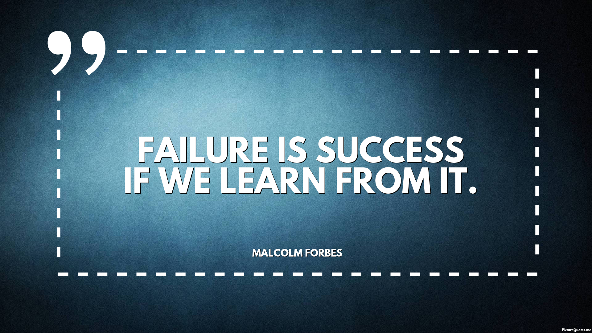 Why Success Always Starts With Failure