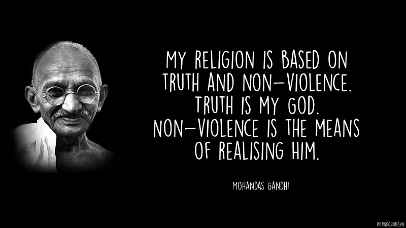 gandhi non violence Books, articles, video on peace, nonviolence and conflict resolution by gandhian way.