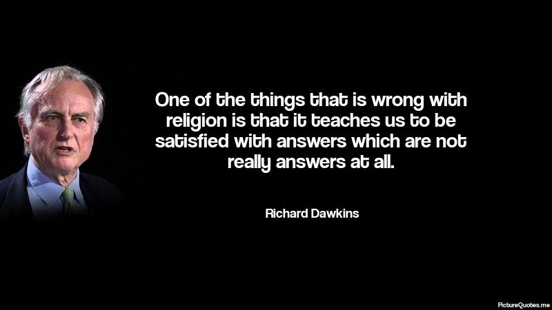 Résultats de recherche d'images pour «richard dawkins quotes»
