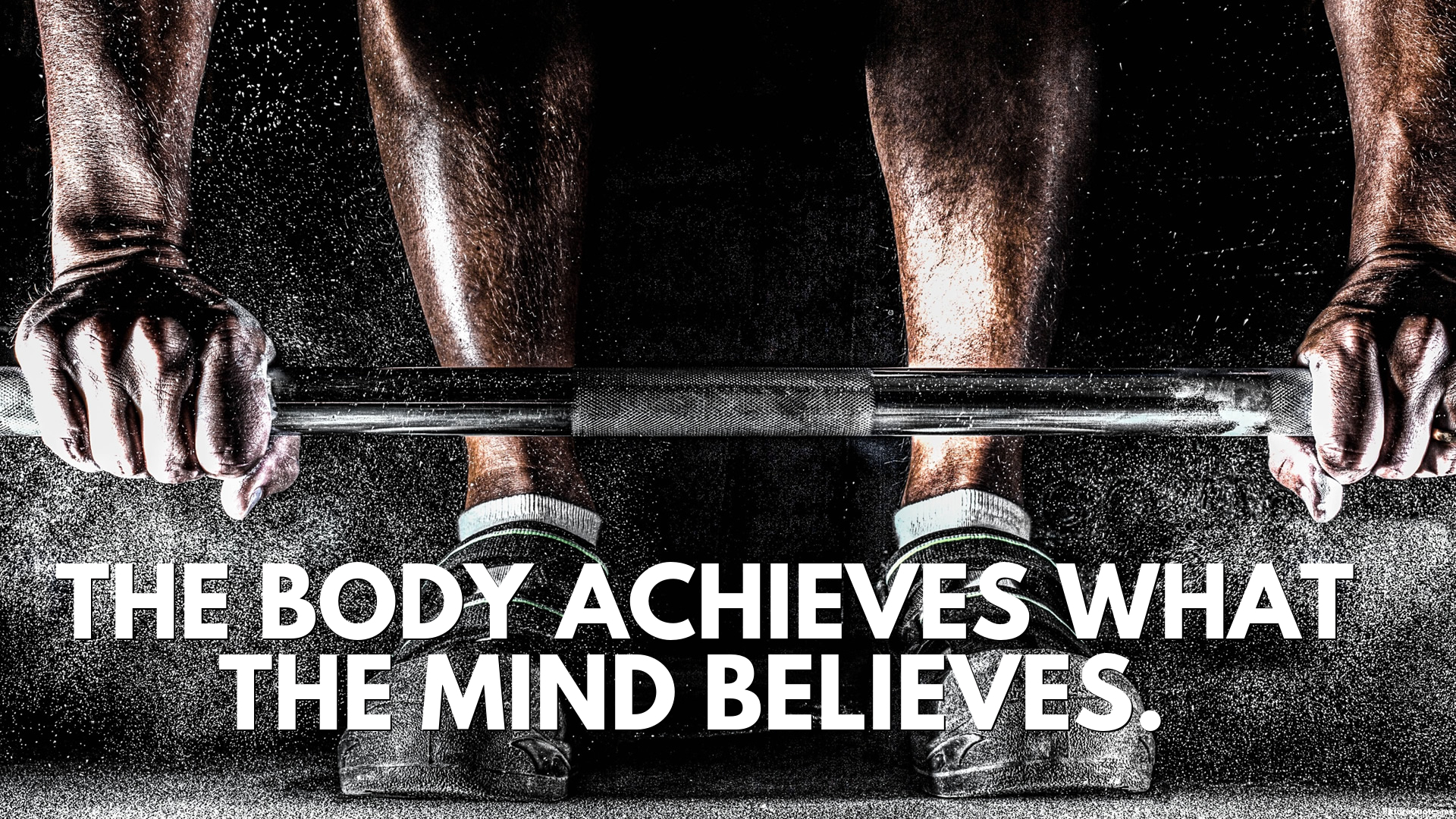 The body achieves what the mind believes. - Unknown : id: 5701